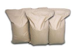 25 kg kiszerelésű zsákokban szállítjuk (polietilén zacskó papírral lefedve)